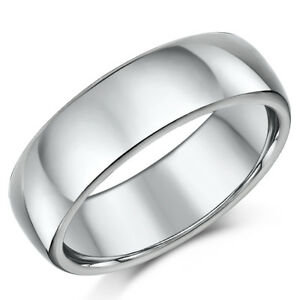 Titan Ehering Verlobungsring 7mm Ehering Herren Ring Ebay