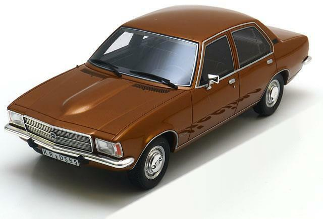 Opel rekord d 2100d limousine 1973 metal brown bos013 1 18 bos model resin