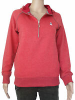 NEW Plongee womens Size XS S M red pullover hoodie