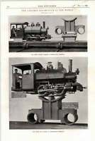 1898 Pittsburgh Locomotive Works Consolidation Locomotive Largest In World