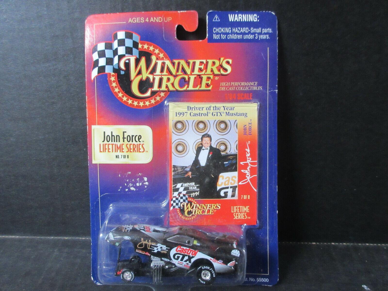 John Force 1 64 Scale Winner S Circle Funny Car Ebay