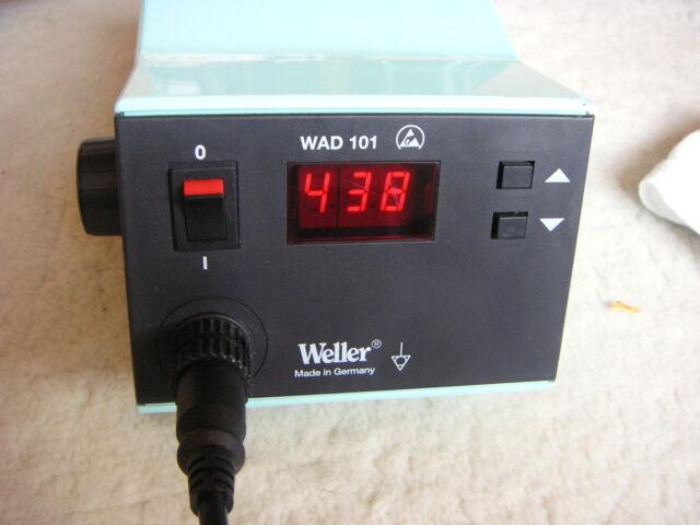Weller Lötstation Entlötstation WAD101 Heißluftstation neuwertig