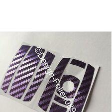 CARBON chrome Purple Key Film BMW Key 1 3 5 X5 X6 E60 E70 E90 E91 E92 E93 M