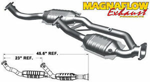 1999 2000 ford windstar 3l cats y pipe magnaflow direct fit catalytic converter ebay ebay