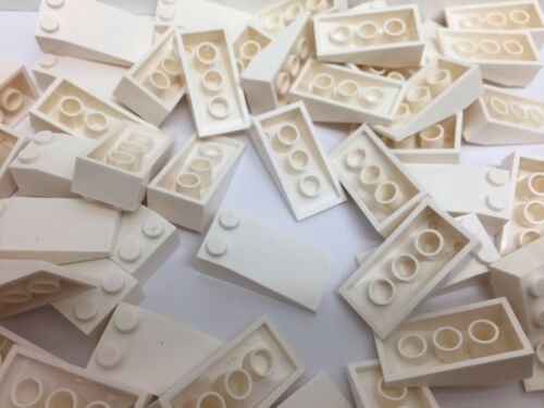LEGO 30363 5 Pieces Per Order NEW WHITE Friends 4X2 Slope Roof Tile