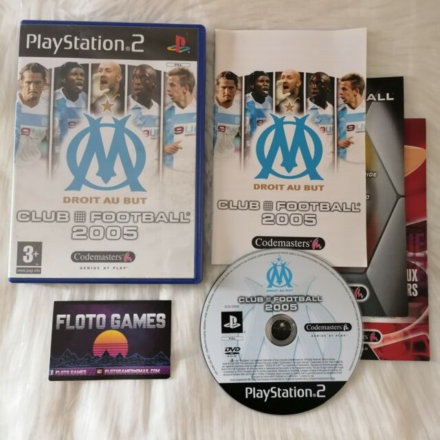 Jeu OM Club Football 2005 pour PS2 Complet CIB PAL FR - Floto Games