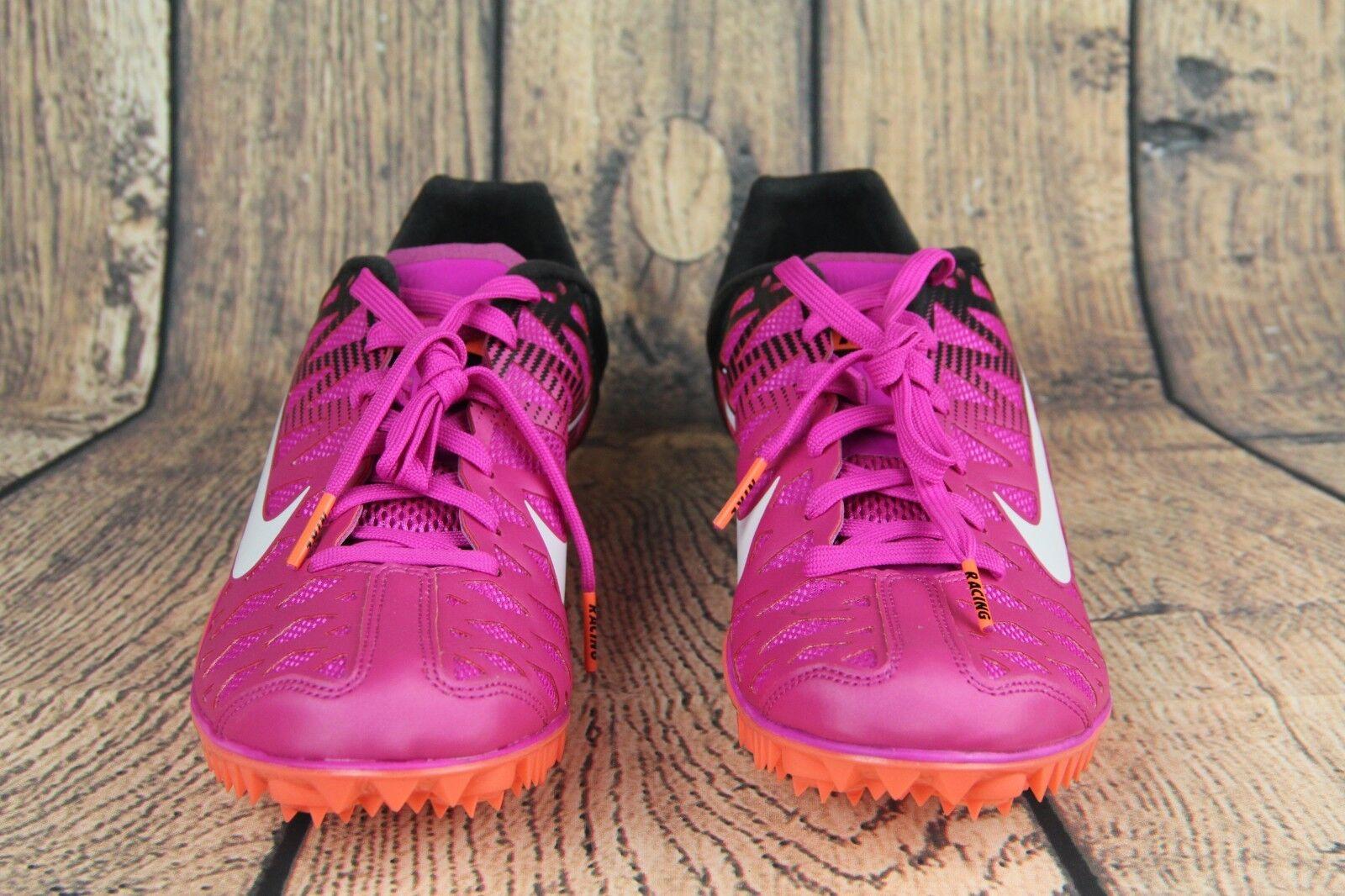Nike zoom maxcat 4 spitzen schuhe feuer rosa schwarz 549150-601 mens größe 7