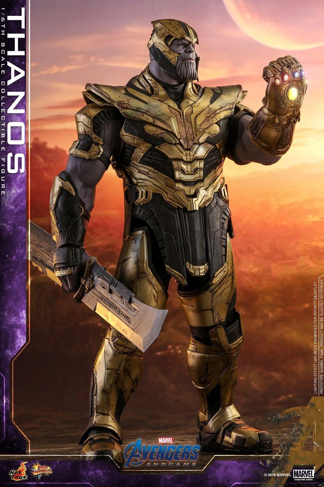 Hot Juguetes 1 6th escala figura Thanos Vengadores Tacho Coleccionable MMS529