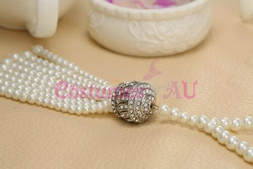 1920s 20s Bracelet Vintage Bridal Great Gatsby Costume Headpiec Accessorries