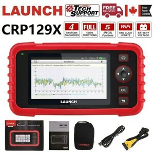 2020New! LAUNCH X431 CRP129X Car Engine ABS SRS Diagnostic Scanner Code Reader