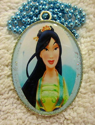 Jewelry & Watches Chinese Princess Mulan Necklace-handmade Resin Jewelry To Invigorate Health Effectively