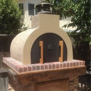 Image Is Loading Wood Fired Pizza Oven Diy Outdoor Fireplace Get
