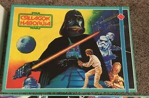 Vintage Hungarian bootleg Star Wars board game Novoplast ...