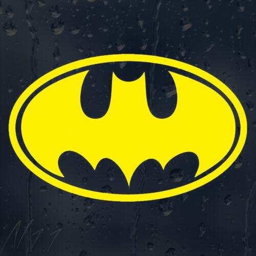 Bat Man Logo Car Window Windscreen Body Panel Laptop Decal Phone Vinyl Sticker