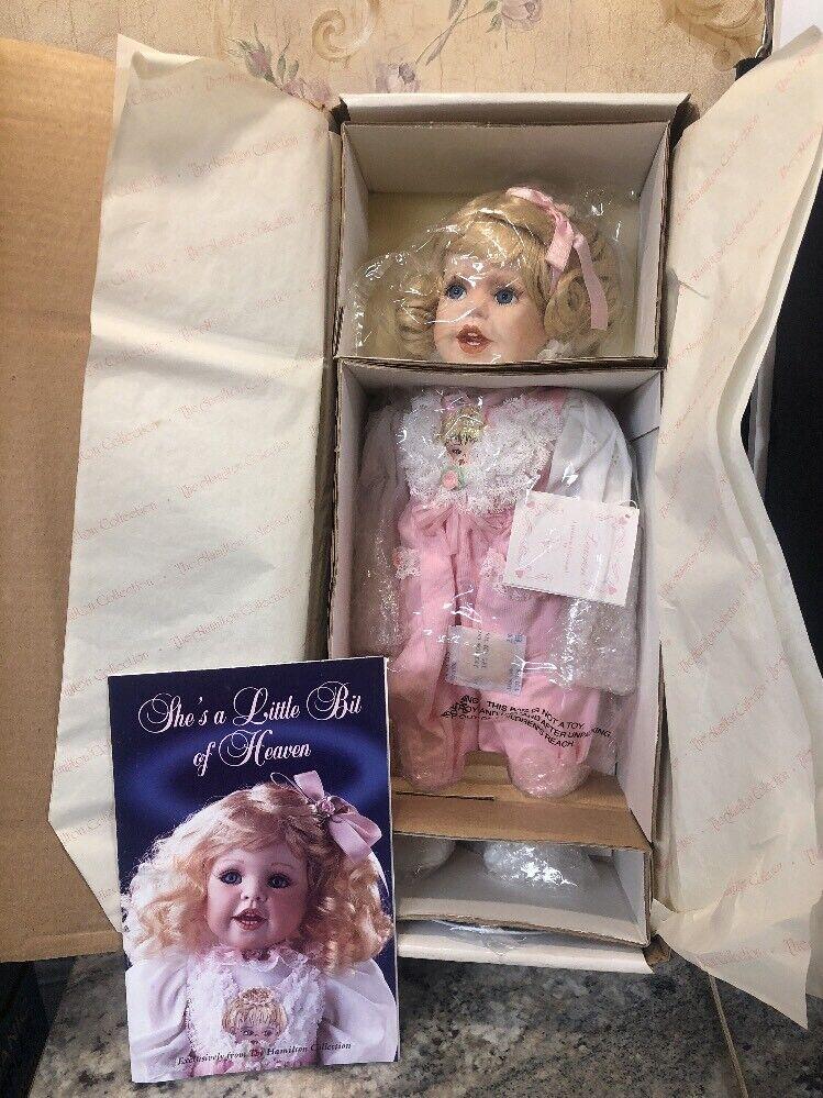 """nuovo The  Hamilton Collection Lauren 15"""" Porcelain bambola  promozioni eccitanti"""