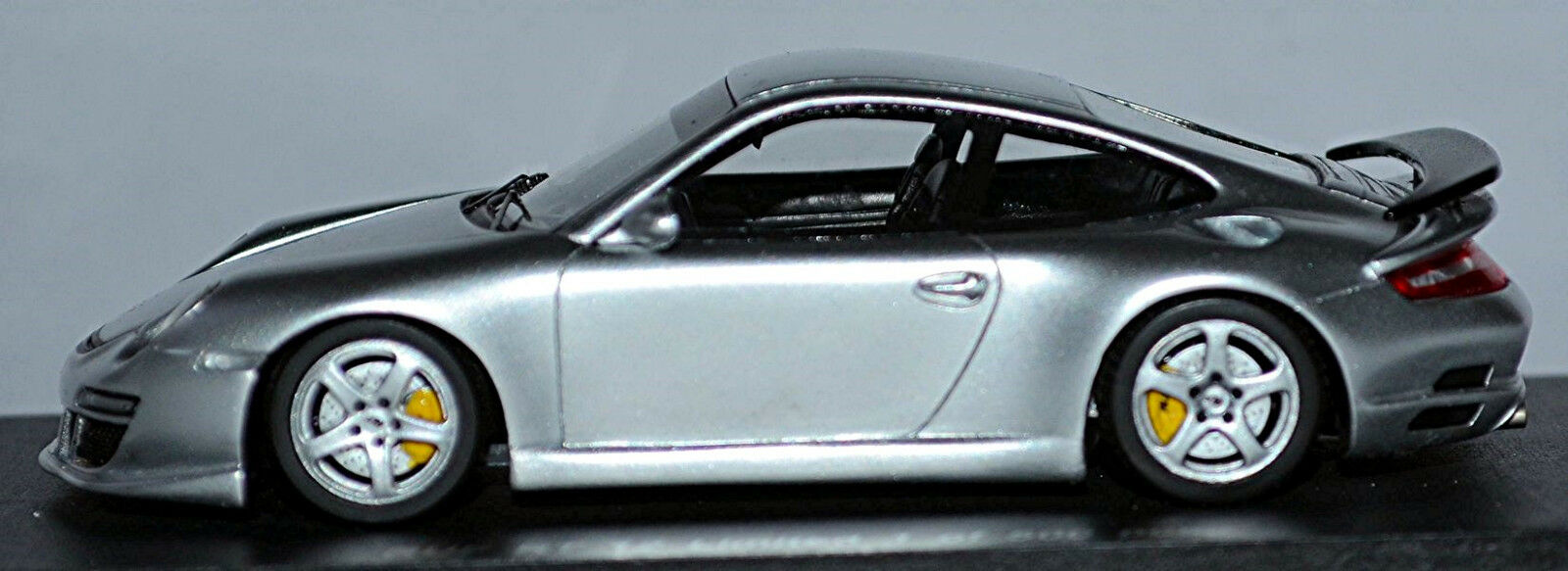 Ruf RT RT RT 12 Porsche 911 Coupé 2006 argent argent métallique 1 43 Spark 086f3e