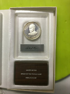 Franklin-Mint-Sterling-Silver-Richard-Nixon-Medal