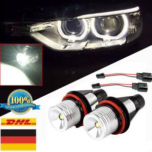 For BMW E39 E87 E60 E63 E65 E66 E53 X5 E83 Error Free Angel Eyes Halo LED Light
