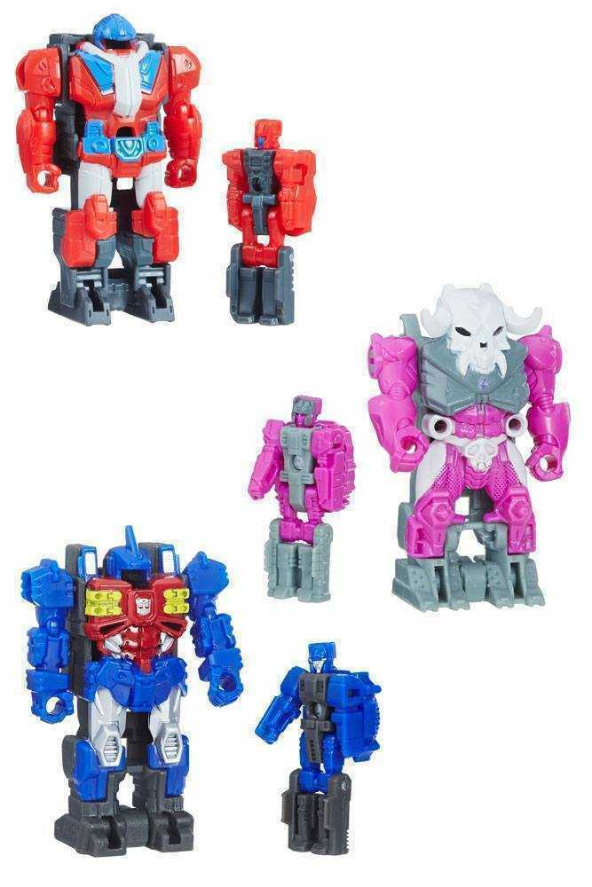 Transformers Generations Puissance of the Nombres premiers Action Figurines