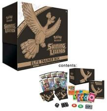 POKEMON SHINING LEGENDS TCG SUN & MOON ELITE TRAINER BOOSTER BOX