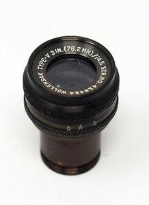 Korean-War-Vintage-GSAP-Telephoto-Lens-Wollensak-Type-V-76-2mm-F4-5-419424