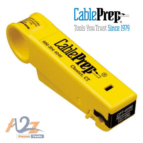 Cable Prep CPT-6590 PREP 6 /& 59 Cable Stripper NEW Single Cartridge