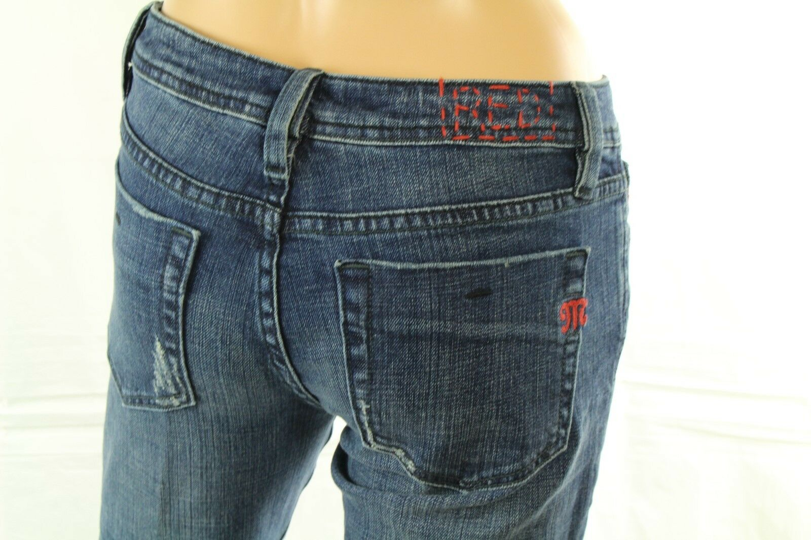 Miss Me Women's Jeans Cameron Red Label High Waisted Flare Size 27