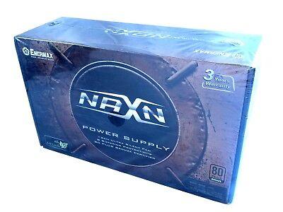 Bronze ATX12V /& EPS12V Power Supply Enermax NAXN ENP550AWT B 80