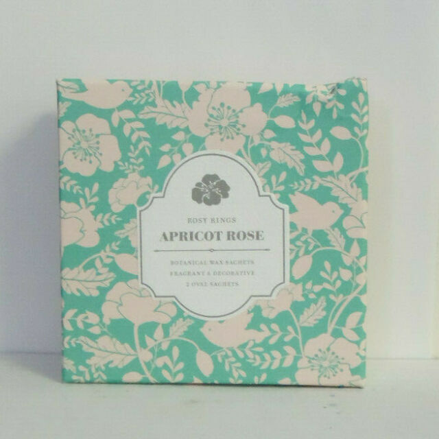 Apricot Rose Rosy Rings Oval Botanical Wax Sachets Sachets Home ...