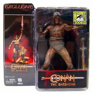Neca Conan la figurine exclusive au barbare finition bronze