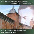 Russian Piano Music Series, Vol. 6: Rachmaninov (CD, Apr-2011, Divine Art)