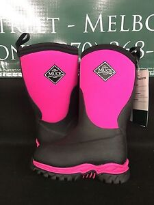 7b39e14f696ab Muck Boot Co. Kid's Rugged II Pink Black Childrens Youth Sizes RG2 ...