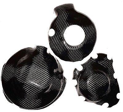 Motorrad-Motorsport HUSQVARNA 701 16-19 2x CARBON FRIZIONE COPERCHIO Lima Coperchio Engine Cover Carbone