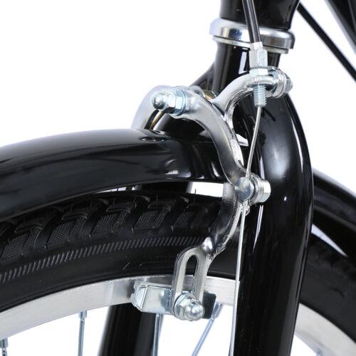 Vieil homme 3 Roues Vélo 24 Pouces 7 Vitesses Tricycle Adulte Avec panier