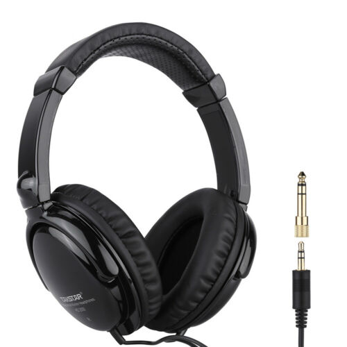 Wired Stereo Dynamic Monitor Headphone Headset for Guitar Computer MP3 MP4 L9A1