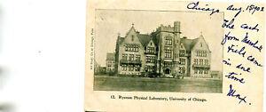 ETATS-UNIS-University-of-CHICAGO-Ryerson-Physical-Labatory