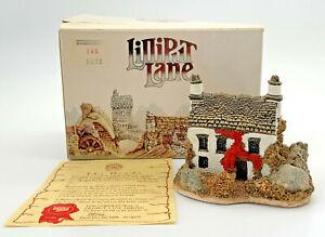 Lilliput-Lane-Stoney-Beck-Cottage-Collectable-Miniture-House-Vintage-C-1987