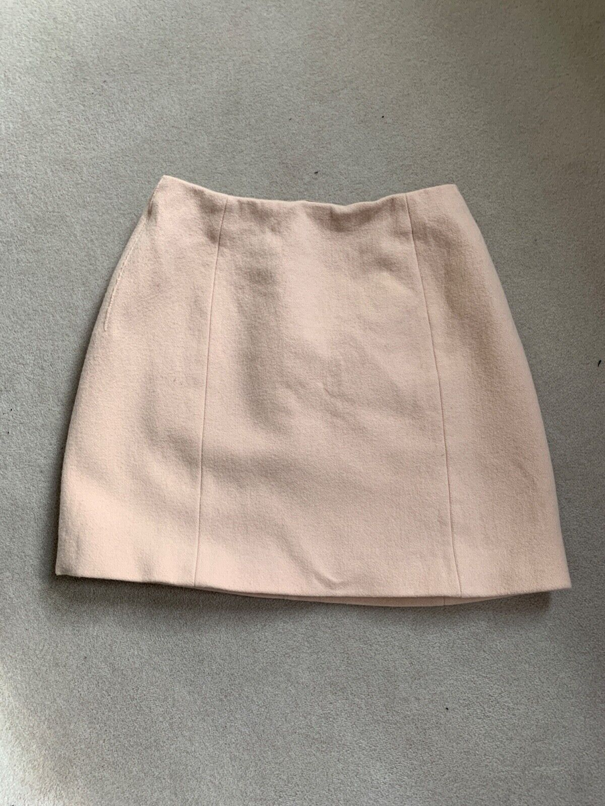 Blush rosa Carven lana Mini Mini Mini Gonna Taglia Eu 36 30ac63