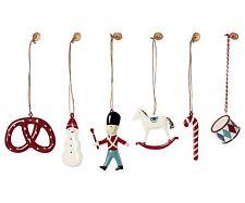 MAILEG 6 Weihnachtsanhänger in einer Box Metall Classic Ornaments in a Box NEU!