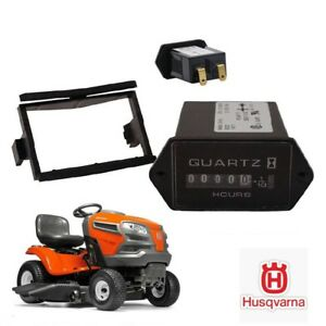 Details About Oem Husqvarna Hour Meter Gt Gth Gtvh Hvgtk Hgvtv Yt Yth Lawn Tractor Mower