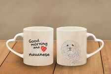 "Havaneser - ein Becher ""Good Morning and love, heart"" Subli Dog, CH"