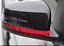 2Pcs 5D Styling Stickers Carbon Fiber Vinyl Stripe Decal Car Ac Rearview Mirror