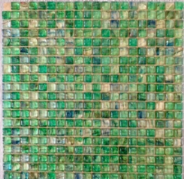 Mosaic glass tile sheets - 12  x 12