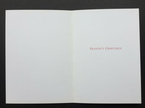 Vtg Edward Gorey Xmas Holiday Greeting Card ONE Fruitcake Weird Bizarre Funny