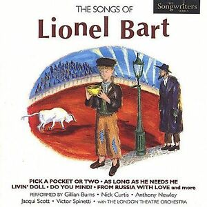 The-Songs-of-Lionel-Bart-Various-Artists-BRAND-NEW-CD