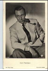 1950-60-Portraet-AK-Film-Buehne-Theater-Schauspieler-CARL-RADDATZ-Ufa-Foto-PK