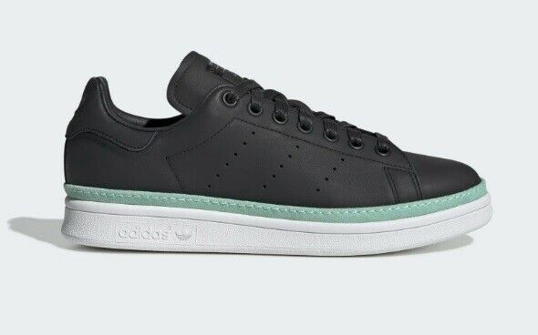 online store good service vast selection ADIDAS Originals Stan Smith New Bold Women's Casual Sneakers Black sz 7~10