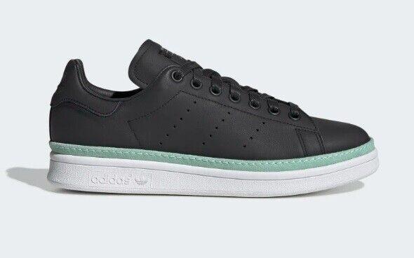 ADIDAS Originals Stan Smith New Bold Women's Casual Sneakers Black sz 7~10