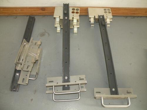 Tektronix TDSxxx Oscilloscope Rack Mount Handles Cable Routing Brackets /& Rails