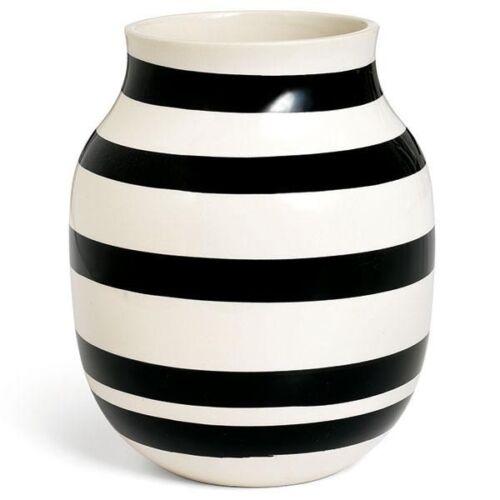 20cm Kähler Design Vase Omaggio Schwarz